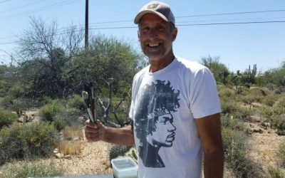A conversation with artist Rick DeMont and James Schaub, Tohono Chul Curator of Exhibitions